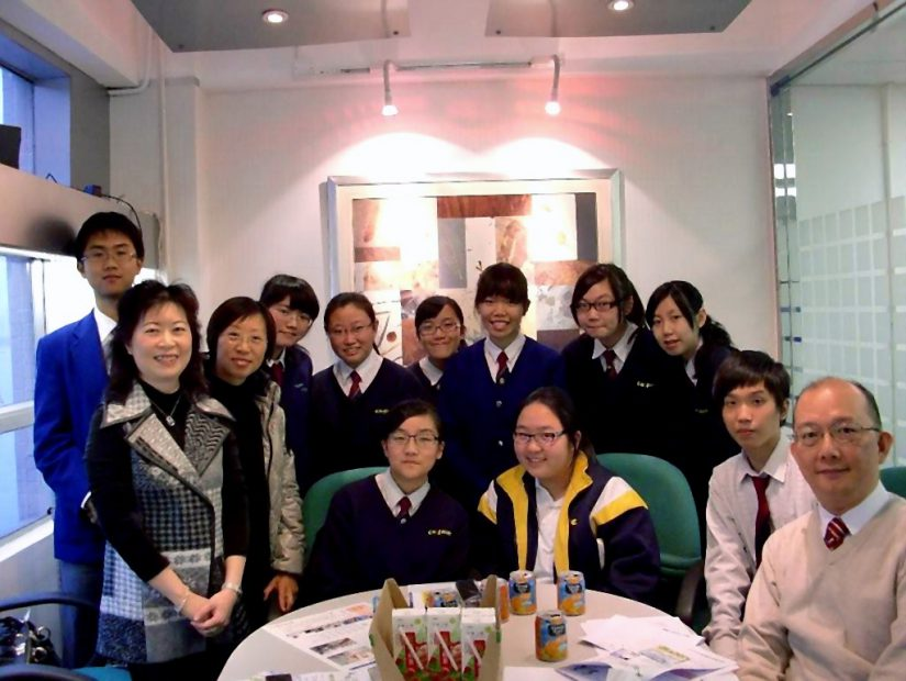 Career Talk regarding Company Secretarial Company to the student of Tung Wah Group of Hospitals Lee Ching Dea Memorial College